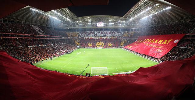 Choreographie Stadion Galatasaray Istanbul Türk Telekom Arena