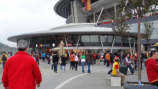 GS Store - Fanshop am Stadion von Galatasaray Istanbul