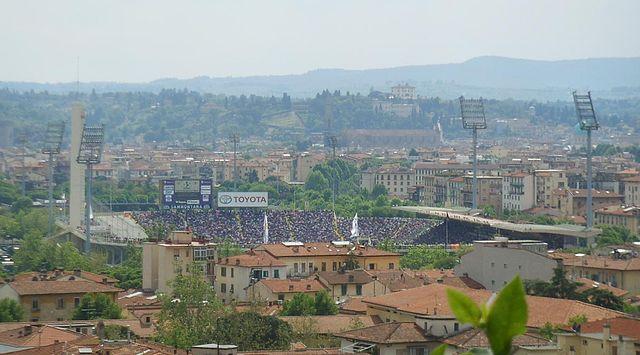 Stadion AC Florenz Stadio Artemio Franchi