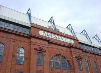 Glasgow Ranger, Ibrox Stadium Fassade