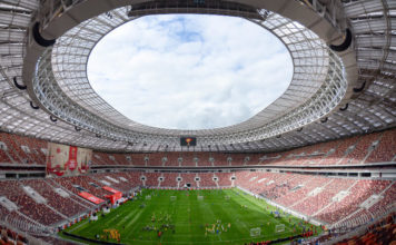 Luschniki Stadion WM-Stadion Moskau