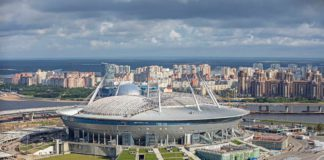 Sankt-Petersburg WM-Stadion Krestowskij-Stadion