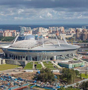 Sankt-Petersburg-Stadion: WM-Stadion Krestowskij-Stadion