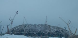 Samara-Arena: WM-Stadion Samara-Stadion Kosmos-Arena