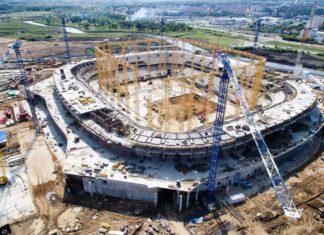 WM-Stadion Saransk Mordwinien-Arena