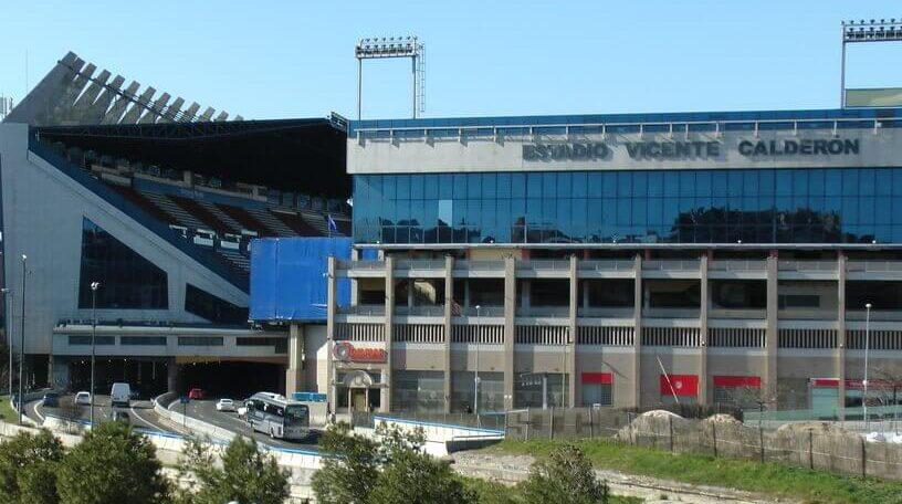 Atletico Madrid Stadionseite Storage room