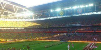 Wembley Dortmund vs Bayern