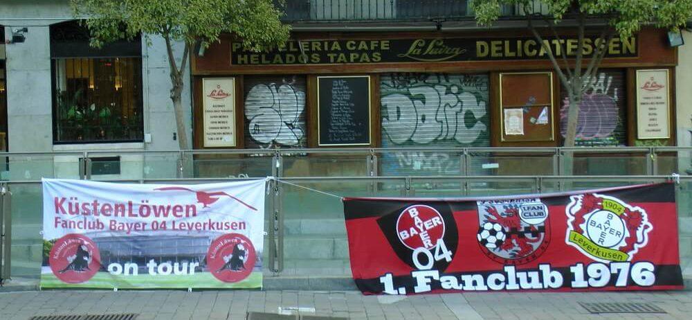 Madrid Innenstadt Leverkusen Banner