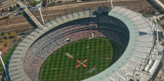 Melbourne Cricket Ground Australien