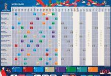 WM 2018 Spielplan Russland