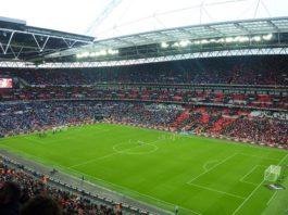 Wembley Stadion Innenansicht