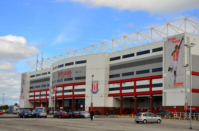 Innenansicht 365bet Stadium, Stadion von Stoke City