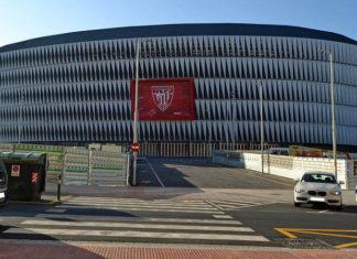Estadio San Mamés, Aussenansicht