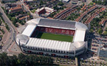 Philips-Stadion Vogelperspektive