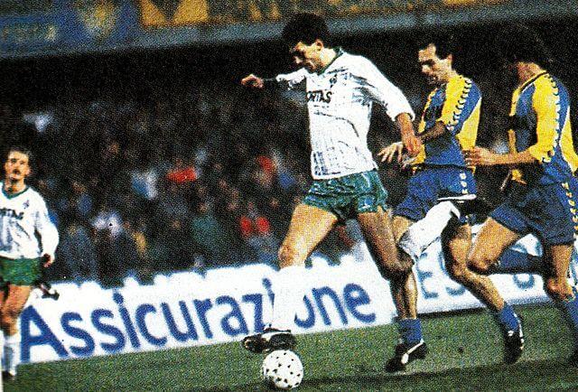 Werder Bremen im Europapokal Verona 1988