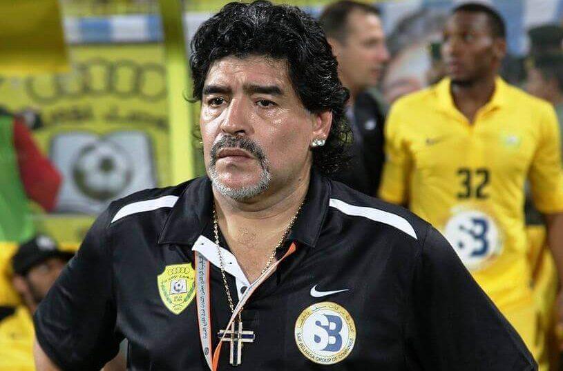 Diego Armando Maradona, Trainer