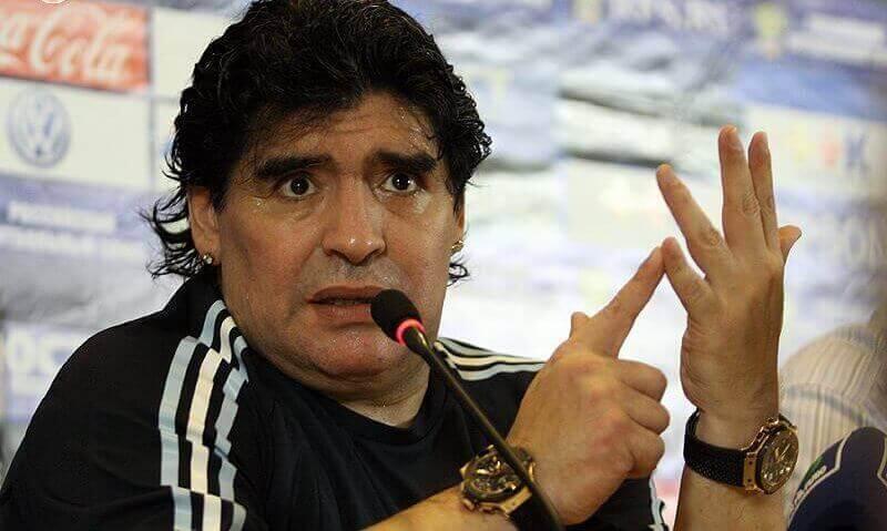 Diego Armando Maradona, dick