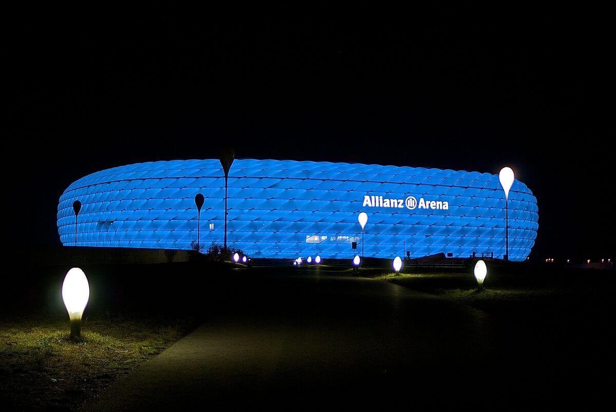 AllianzArena 1860 München blau