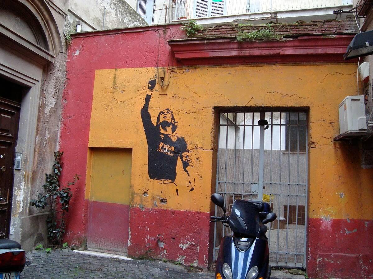 Totti Graffiti Rom