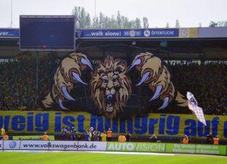 Chreographie Eintracht Braunschweig: Gründungsmitglied der Bundesliga