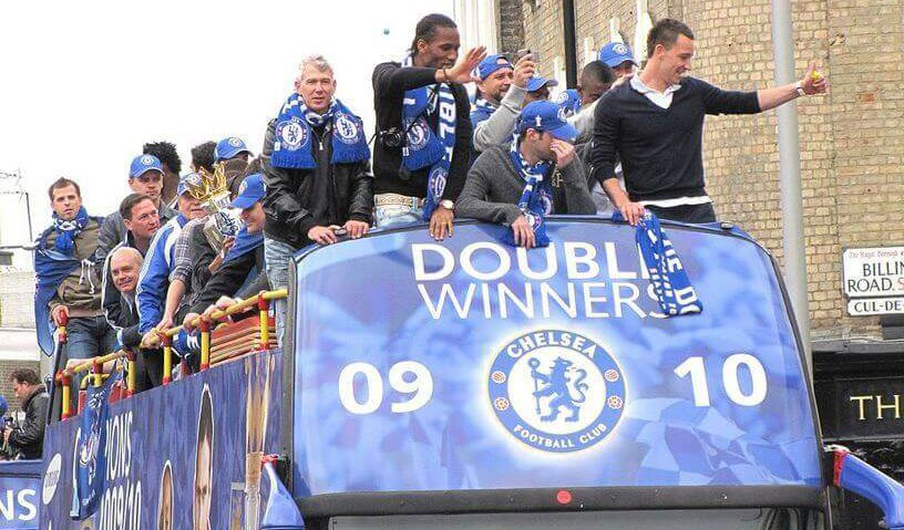 Didier Drogba. Chelsea London