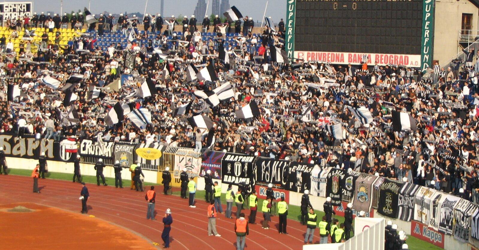 Stadion Partizana Fans