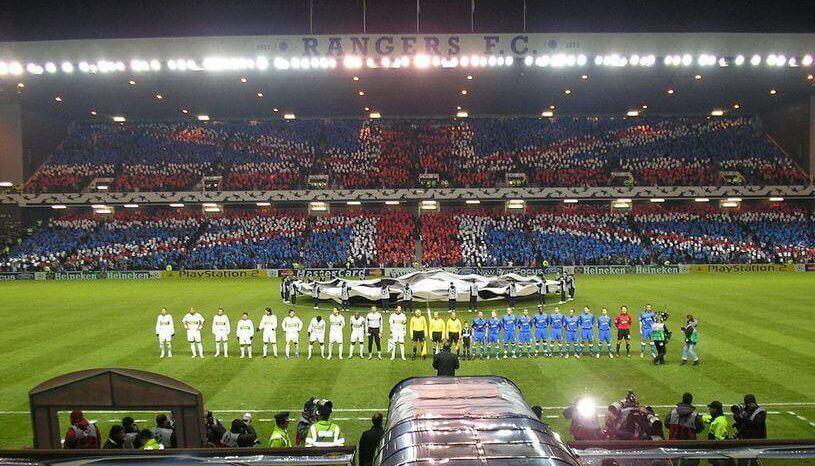 Ibrox Stadium, Fans Glasgow Rangers