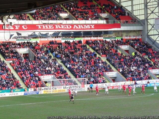 Pittodrie Stadium Fans