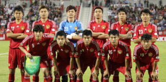 Fußball in China Nationalmannschaft von China