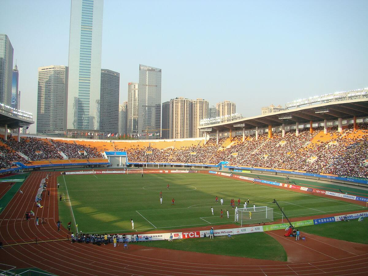 Tianhe Stadium Fußball in China