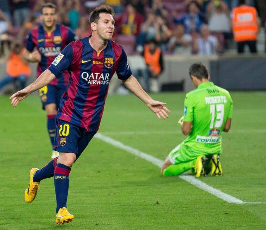 Fünfmaliger Weltfußballer Lionel Messi 2014