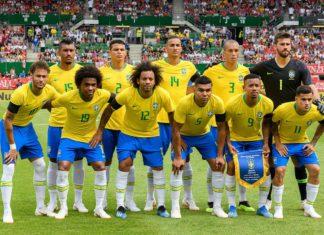 FIFA-Weltrangliste Rekordteam-Brasilien Fußball-Weltrangliste