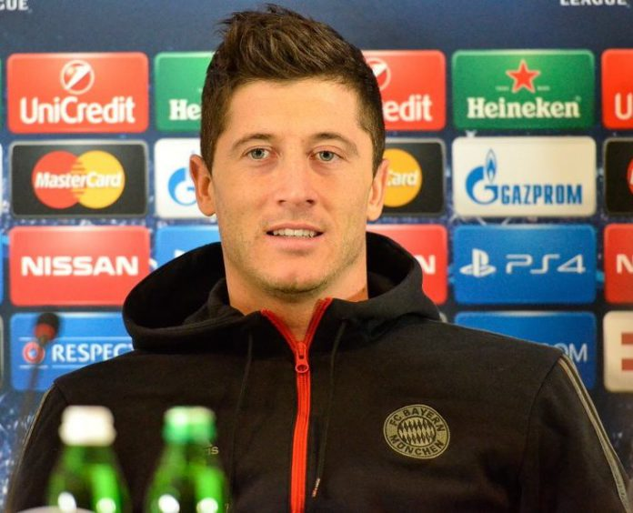 Bundesliga Torschützenkönig Robert Lewandowski