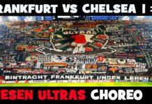 Choreographie Eintracht Frankfurt