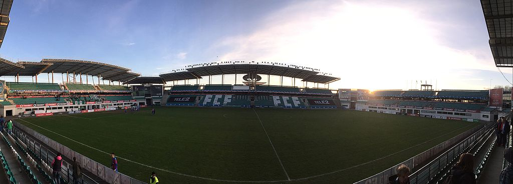 Stadion von Flora Tallinn: A. Le Coq Arena